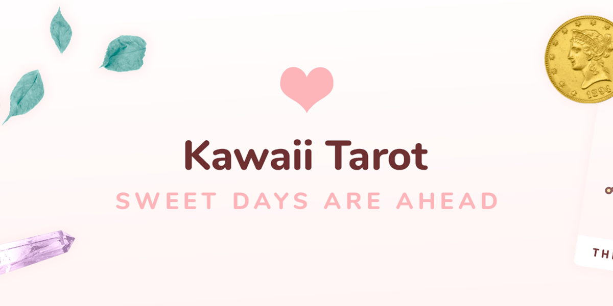 The Moon - Kawaii Tarot